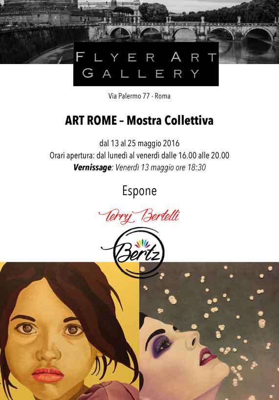 ART ROME – Mostra Collettiva dal 13 al 25 maggio 2016